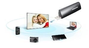 Adaptador wifi ready, para todos los televisores Samsung. Clic en la imágen