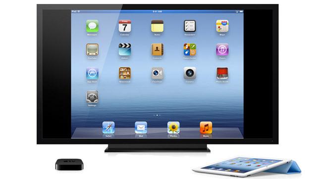 Conecta el iphone mediante wifi direct y bluetooth a apple tv con iOS 8