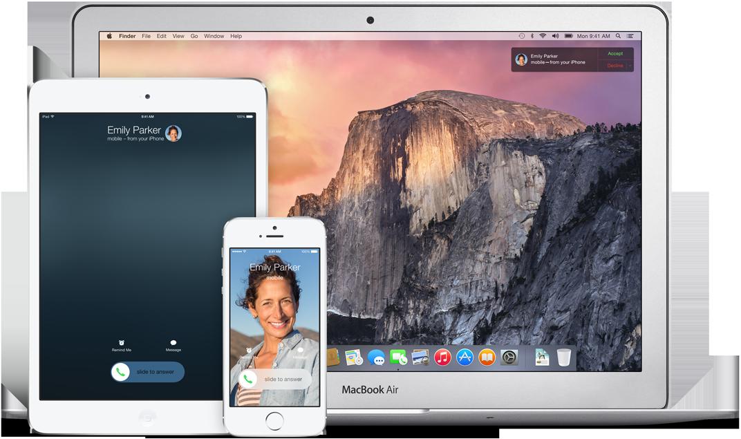 Novedades wifi de apple en el wwdc 2014: Continuity, handoff y homekit