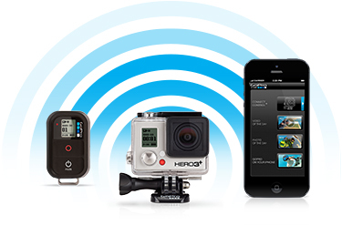Action camera Gopro hero 3 con wifi remote, graba tus vacaciones desde el smartphone