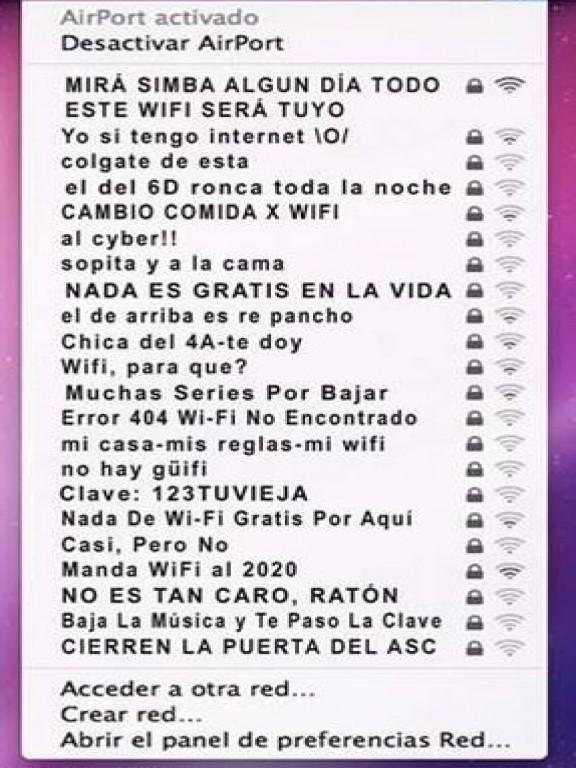 Los nombres más originales y divertidos para ponerle a tu red wifi y tirar puyas a tus vecinos
