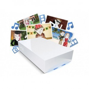Lacie CloudBox para el hogar. Clic en foto para detalles