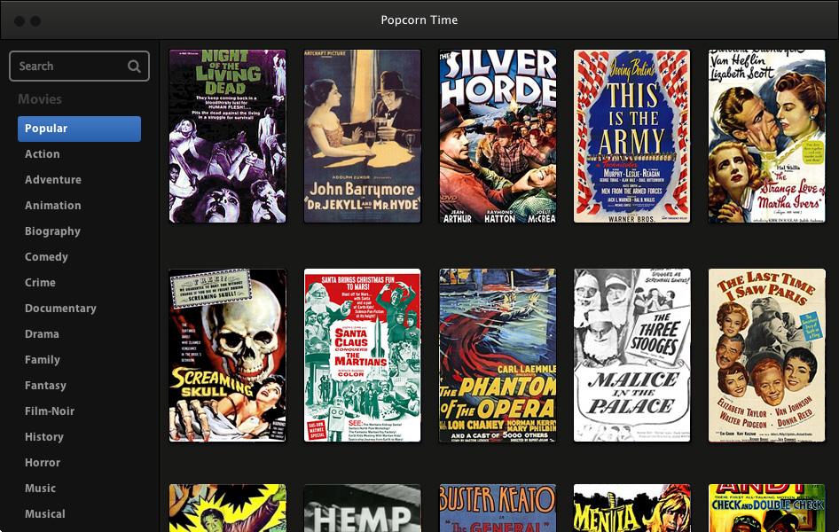 Popcorn Time vuelve a estar activo tras un ataque usando un nuevo dominio, las peliculas online gratis han vuelto