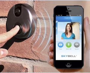 El timbre para puertas se moderniza con wifi c mara integrada y retransmisi n en vivo en el - Timbre de casa ...