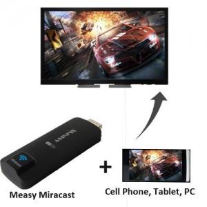 Meary, compatible con Chromecast, Miracast, DLNA y Airplay, por 20 €, clic en la foto