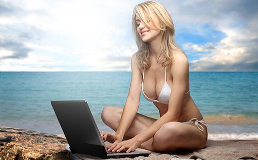Las mejores playas con wifi gratis para navegar por Internet en España 2014