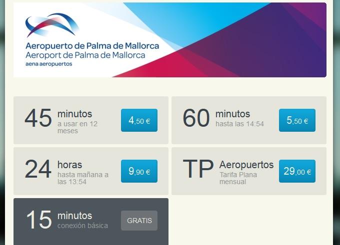 Analizamos el wifi gratis del Aeropuerto de Palma De Mallorca En España