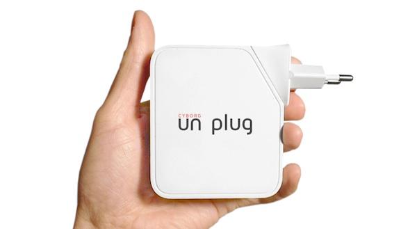 Cyborg Unplug, pequeño router que evita que te pirateen la wifi o te espíen con Drones o webcams