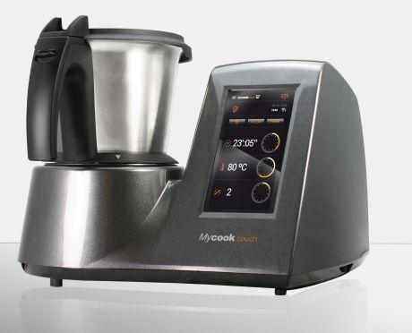 Primer robot de cocina tipo thermomix con wifi y conectado a internet el mycook touch - Cocinar con robot ...