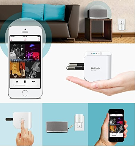 D-Link presenta mydlink Home Music Everywhere un repetidor wifi para reproducir musica sin cables por  DLNA y AirPlay