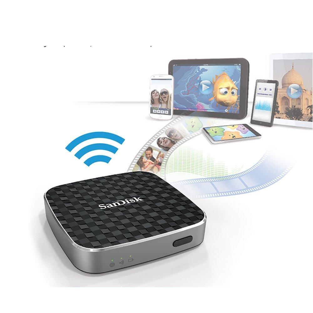 Sandisk Connect, la unidad Flash multimedia con wifi ideal para compartir vídeos con iPad, iPhone, Kindle Fire y Android