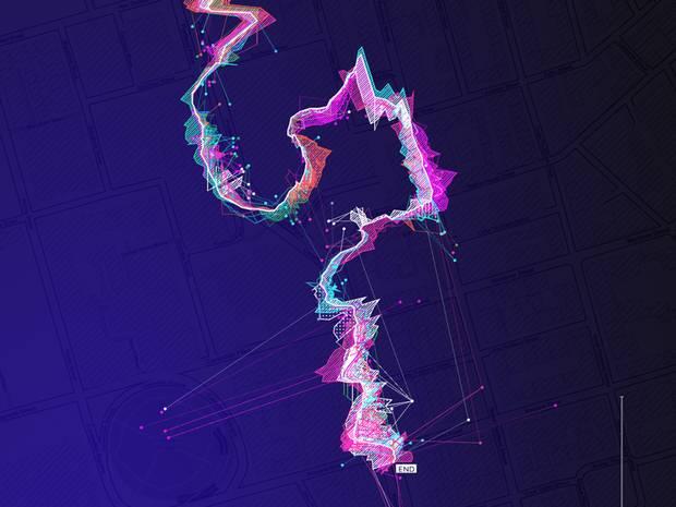 App que convirte las señales wifi en sonidos audibles y crea mapas sonoros para iPhone