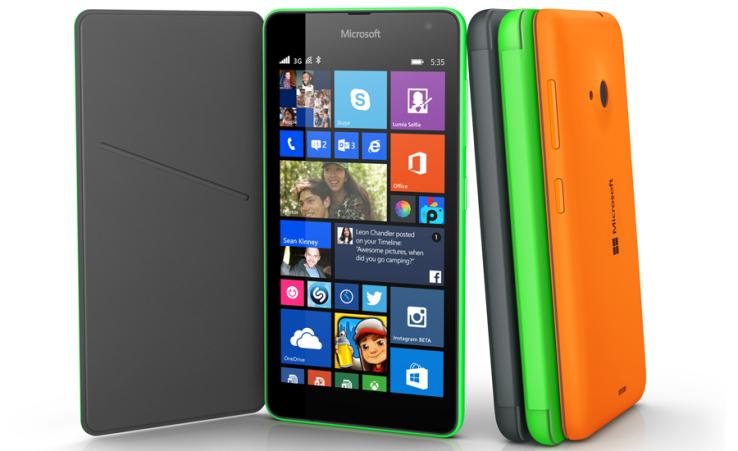 Microsoft Lumia 535, un móvil de 5 pulgadas por un precio de 110 euros libre