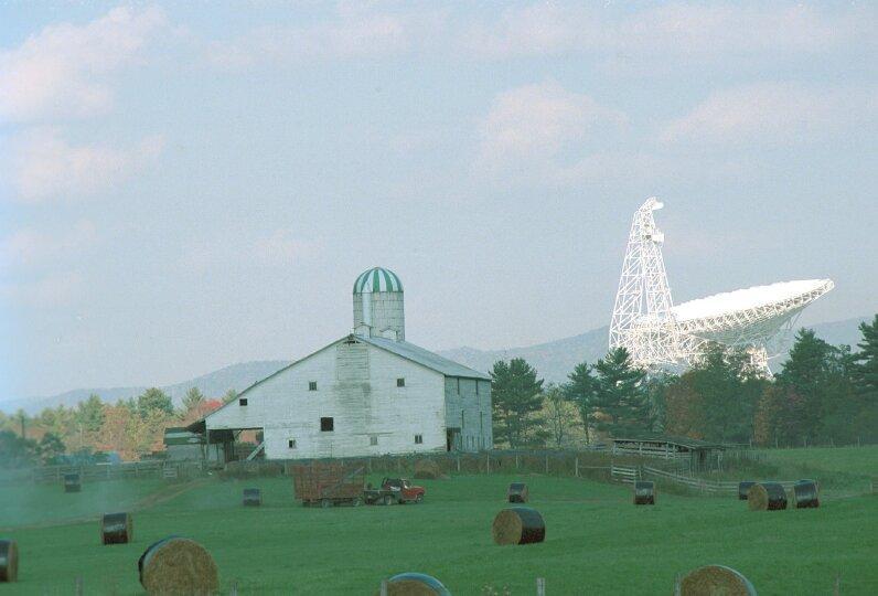 Green Bank, un pueblo de EEUU donde están prohibidas las señales wifi y los teléfonos móviles