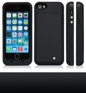 Funda con batería para iphone 5, 5S 5C. clic en foto para detalles