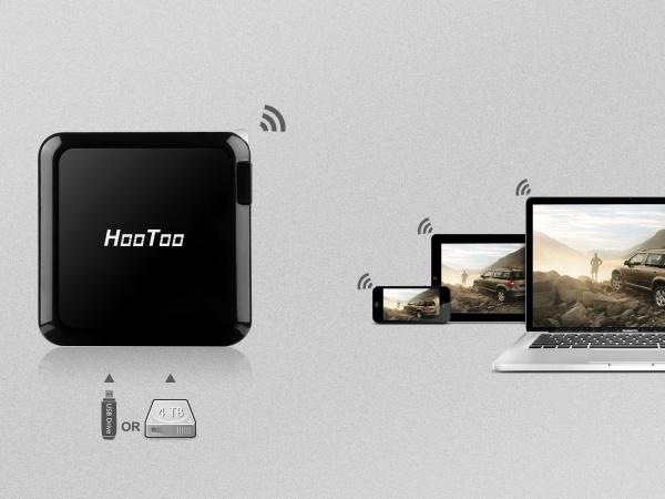 TripMate: Mini router wifi de viaje, amplificador, hotspot y disco duro de red, todo en uno