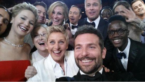 El famoso selfie de los Oscar