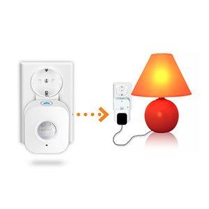 Sensor wifi combinado con enchufe inteligente