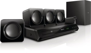 Home Cinema 5.1 Philips de 300 W. Sólo 80 € en Amazon