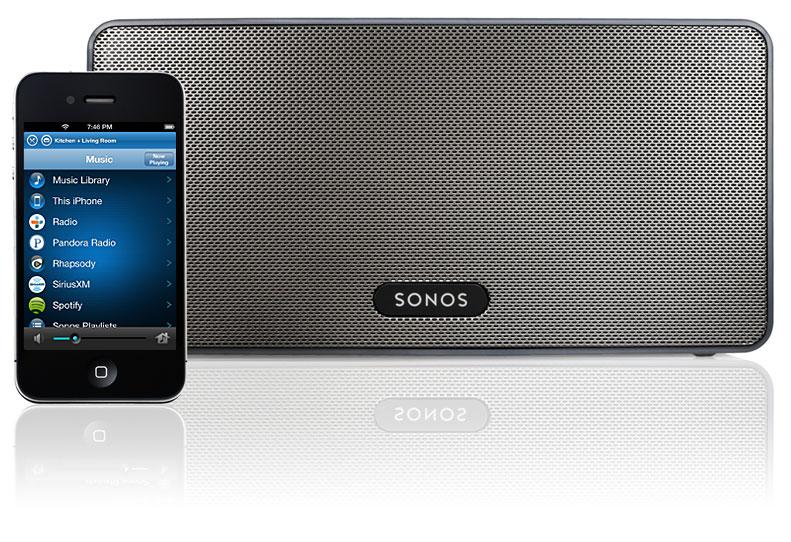 Escucha tu música en toda la casa por wifi con: Altavoces sonos + Time Capsule o NAS + iPhone o Android
