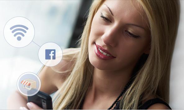 Wiman, el router wifi social, ayuda al pequeño comercio a conseguir seguidores en twitter y facebook