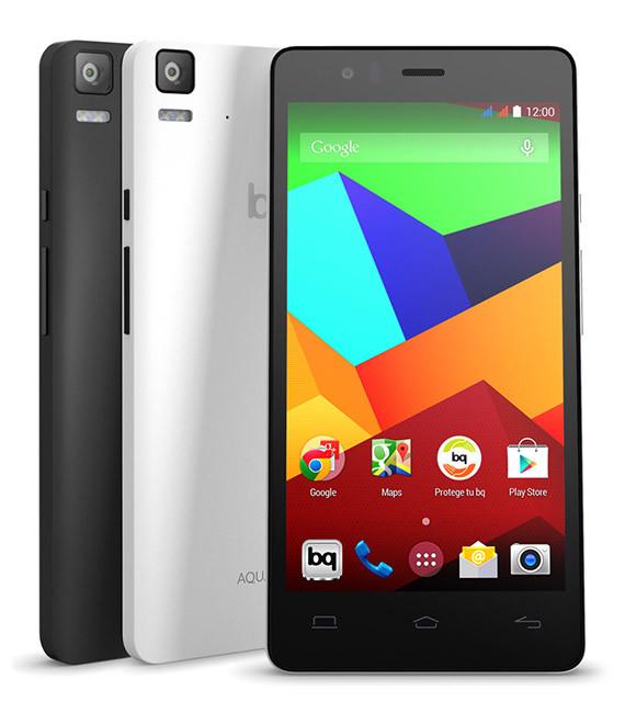 Bq Aquaris serie M, los nuevos modelos 4G de la tecnológica Bq con Android 5.0 Lollipop