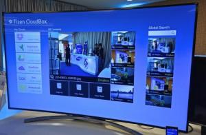 TV Samsung con Tizen