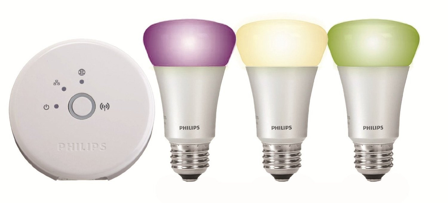 Bombillas led wifi inteligentes Philips Hue, se controlan desde el iPhone, Android o Apple Watch