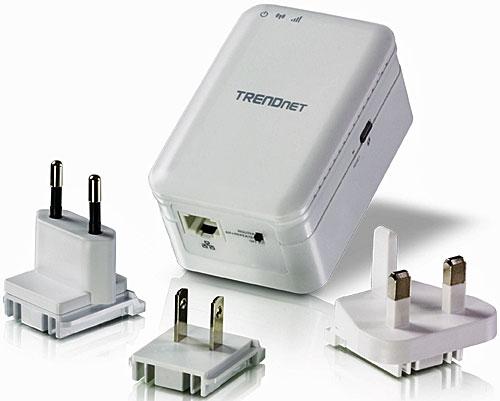 Nuevo router inalámbrico de viaje TRENDnet AC750, compatible con wifi AC, para compartir conexión