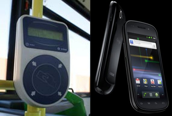 La tecnología NFC, clave en el transporte público