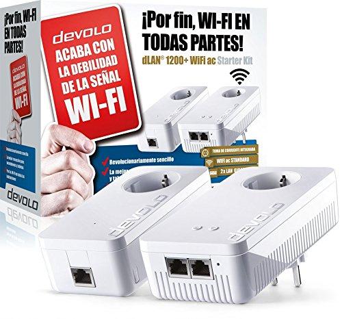 Acaba con la debilidad de la señal wifi con el Devolo Starter Kit, wifi ac en todas partes con este PLC
