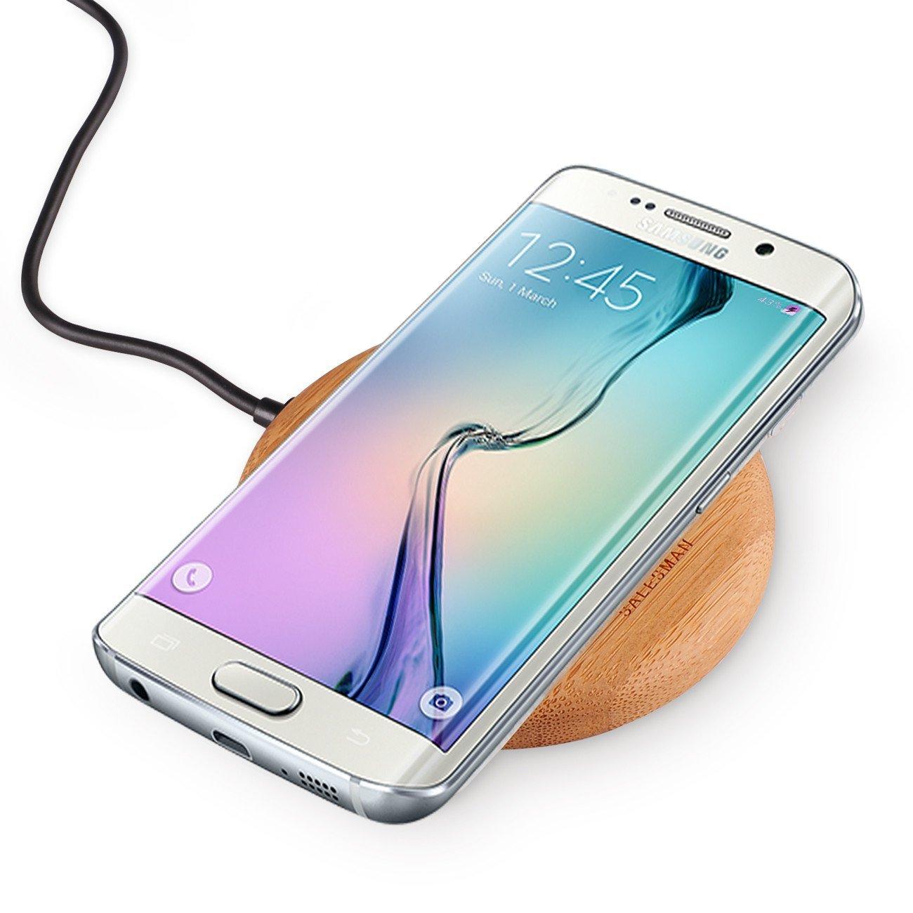 Cargadores inalámbricos para los nuevos Samsung Galaxy S6 y S6 Edge