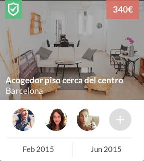 Cómo buscar gente para compartir piso en cualquier ciudad del mundo: Madrid, Barcelona, Valencia, Sevilla