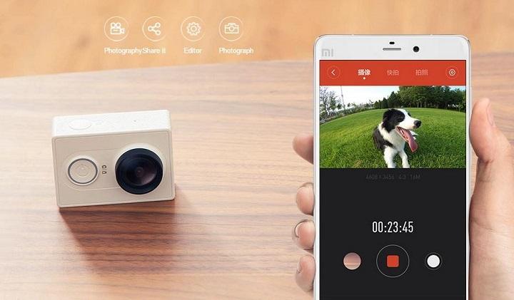 Yi Action Camera, un potente rival para GoPro