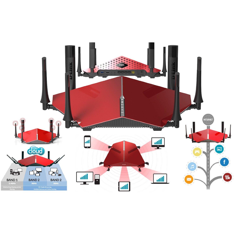 Router ultra WiFi D-Link DIR-890L AC3200, un grande entre los más grandes