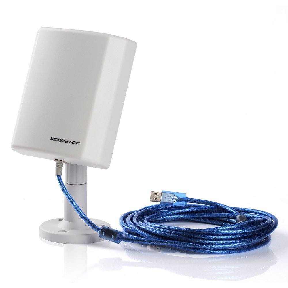Antena wifi USB de gran potencia para pc, capta señales a 3 kilómetros de distancia, larga cobertura