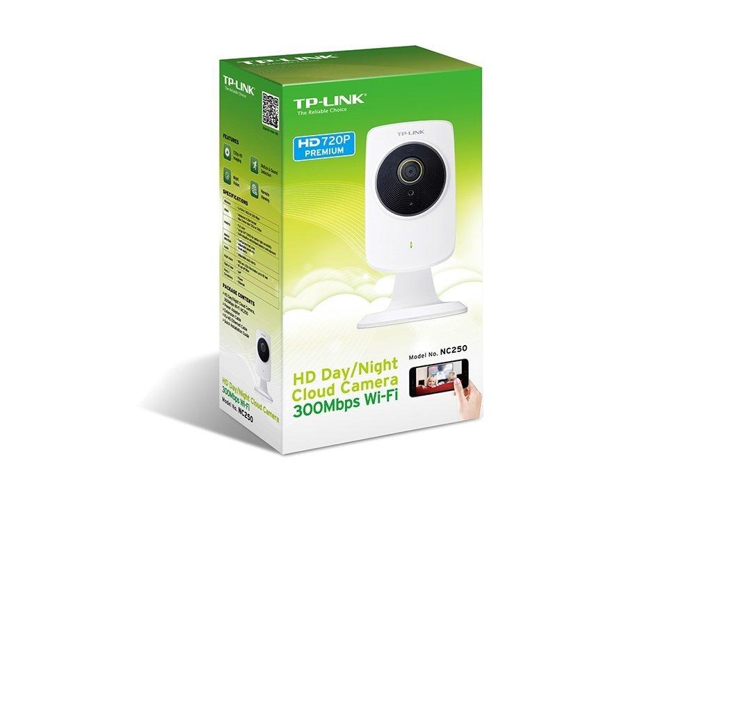 Cámara de vigilancia wifi TP Link NC250 barata, para casa, analisis, características, visión nocturna