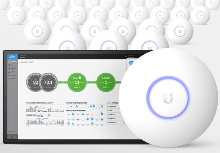 Extender wifi en casa con el Ubiquiti UniFi AC Lite, manual de configuración, solución profesional