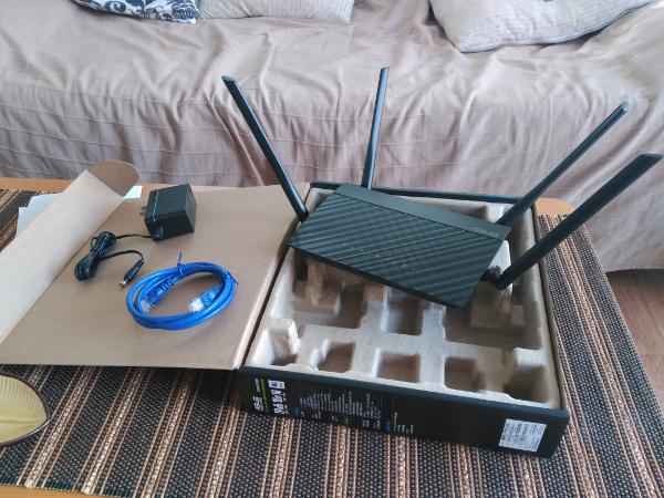 Router wifi ac barato Asus ac1200 de largo alcance, review, configuración, análisis, manual, 45 euros