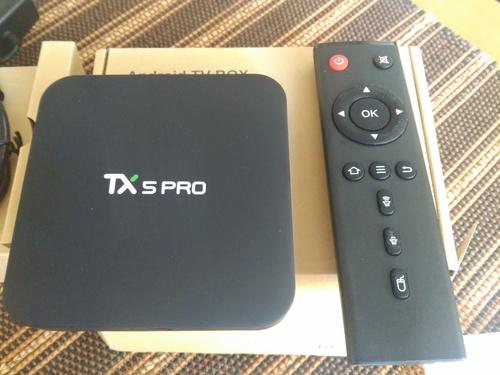 Android TV Box barata china con 4K, HDR, wifi AC Dual, TX5 Pro analisis, Kodi para fútbol y F1, Netflix