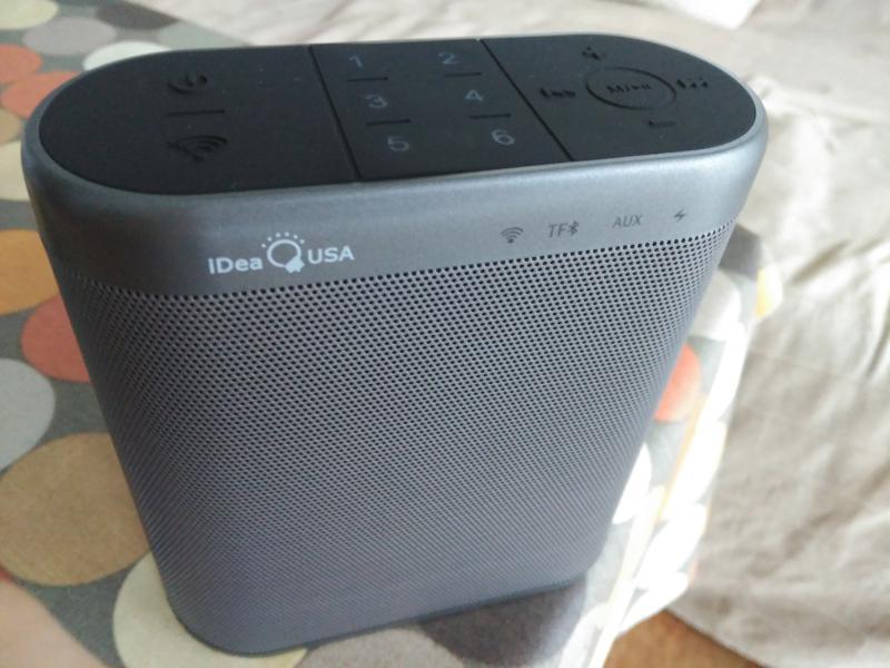 Altavoz bluetooth y wifi chino, portátil, barato, potente, Idea Home, multiroom, análisis, opinión, Android o iPhone
