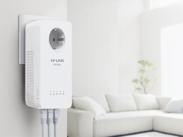 Opciones de configuración de los PLC wifi TP-Link TL-WPA8630P Kit