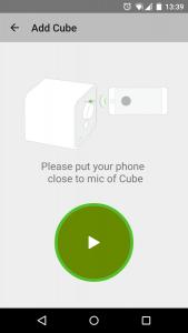 Aplicación Sugr Cubo