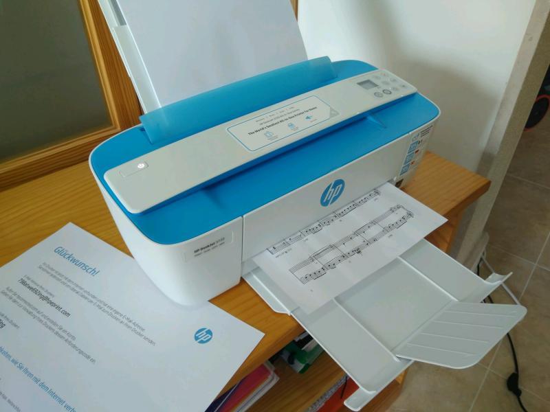 Impresora hp wifi multifuncion y portátil Deskjet 3720, análisis, instalación, configuración, mejor precio