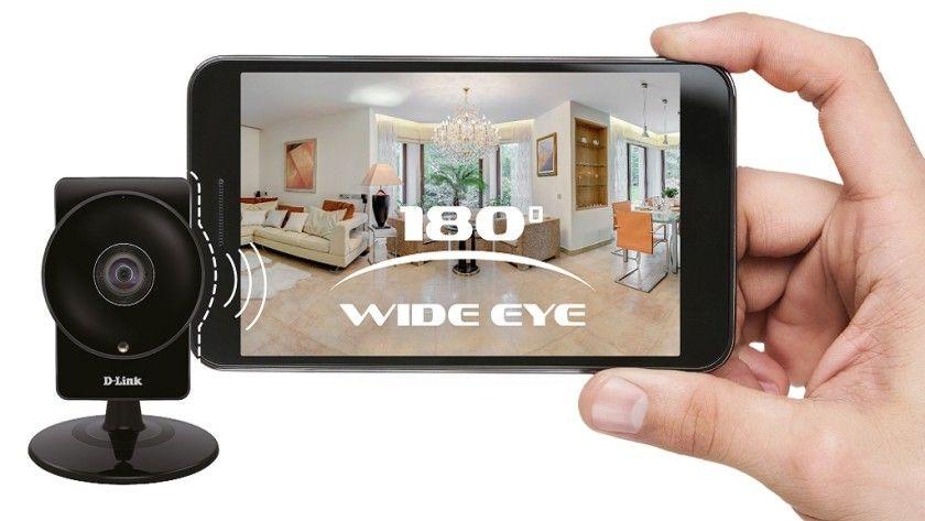 Cámara de videovigilancia D-Link DCS-960L con un ángulo horizontal de hasta 180º