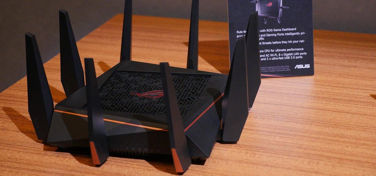 Asus Rapture GT-AC5300, el nuevo router WiFi de Asus para jugar online con las mejores prestaciones