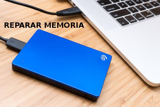Reparar y recuperar datos de USB, pendrive, tarjeta SD, memoria o disco duro dañados sin formatear, usando Windows 10