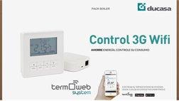 Sistema 3G WiFi de Ducasa para ahorrar con la calefacción eléctrica y de gas