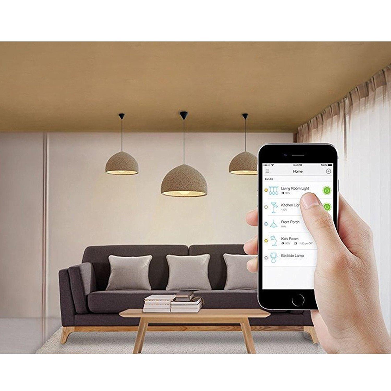Las mejores bombillas inteligentes WiFi del mercado, Philips, TP-Link, WiZ