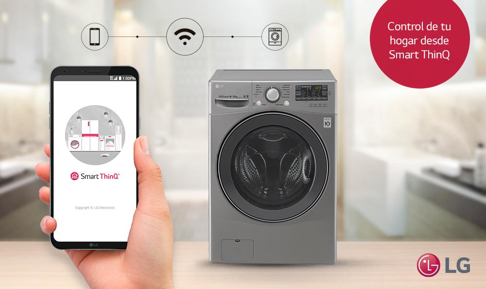 LG Smart ThinQ, transformando los electrodomésticos con conexión WiFi, controla lavadoras y frigorificos con el movil